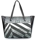 Roberto Cavalli Class Crazy Print Leo Shopper Tasche 32 cm