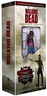 The Walking Dead - L'intégrale de la saison 3 [Édition limité Blu-ray Collector avec figurine Michonne] (B00ENK22A4) | Amazon price tracker / tracking, Amazon price history charts, Amazon price watches, Amazon price drop alerts