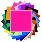 NEOXXIM - Filz Meterware Neon Pink 50x91 cm Bastelfilz Stoff basteln