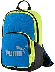 Puma Phase Small Sac à Dos Blue/Electric Lemonade Limepunch Osfa