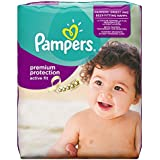Pampers Premium Protection Active Fit Windeln, Gr.4 (Maxi) 8-16 kg Monatsbox, 168 Stück