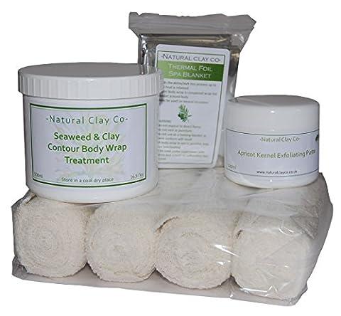 Seaweed & Clay Intense Contour Body Wrap Treatment