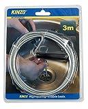 Kinzo 871125279749Spüle und Abflussreiniger–Silber