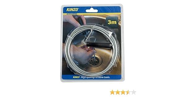 /Silber Kinzo 871125279749/Sp/üle und Abflussreiniger/