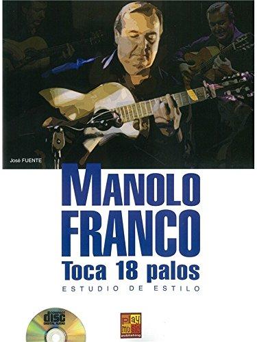Manolo Franco: Estudio de Estilo (Book/CD). Noten, CD für Gitarre