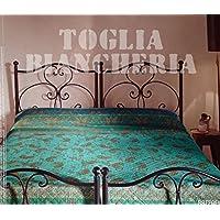 Bassetti Raffaello Colcha acolchada con relleno, V3 - Grün, 265x255