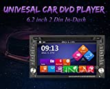 Free Backup Camera!! Windows 8 Double din 6.2 inch HD GPS Navigation 2 Din Car Stereo DVD Player In dash Auto Radio Bluetooth USB SD AUX iPod MP3 PC Head Unit + 8GB GPS Map Card