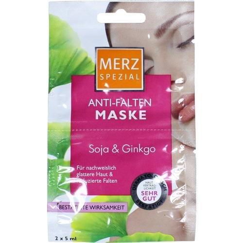 MERZ Spezial Anti Falten Maske Soja+Ginkgo 10 ml Gesichtsmaske (Ginkgo-maske)