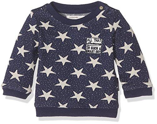 Noppies Baby-Jungen Sweatshirt B Sweater Gonzales, Blau (Deep Blue C162), 80