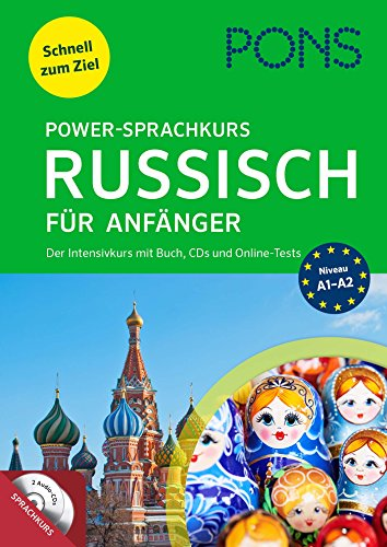 PONS Power-Sprachkurs Russisch für Anfänger: Lernen Sie Russisch mit Buch, Audio+MP3-CDs und...