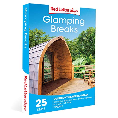 Red Letter Days Glamping Breaks Gift Voucher - 25 glamorous camping UK experiences