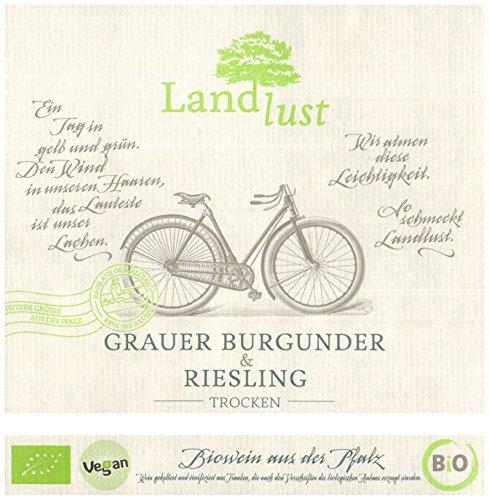 Landlust Bio Grauburgunder Riesling Qualitätswein  (6 x 0.75 l) - 4