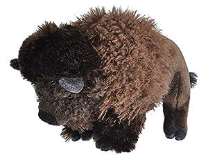 Wild Republic-10922 Peluche Bisonte Cuddlekins, Color marrón (10922