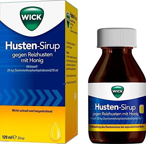 Wick Husten-Sirup gegen Reizhusten Sirup, 120 ml
