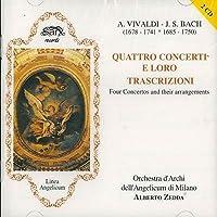 Quattro concerti e loro trascrizioni Concerto F 4 n.10 T 415 Concerto F 11 n.173 T 408