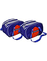 Kuber Industries™ Shopping Handbag,Travel Bag Set Of 2 Pcs With 4 Big Compartment Each Bag (Code-KST022)
