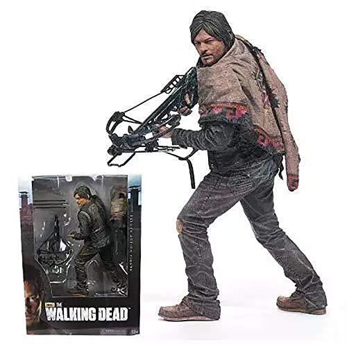 AMC TV-Serie Die Walking Dead Daryl Dixon PVC Action Figure Sammlermodell Spielzeug 10 '' 25cm KT3637 - Figure Dixon Action