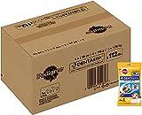 Pedigree DentaStix 1 x Täglich Hundeleckerli für kleine Hunde, Kausnack mit Huhn- und Rindgeschmack gegen Zahnsteinbildung für gesunde Zähne, 112 Stück