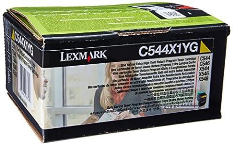 Lexmark Cartouche de toner à rendement extrêmement élevé 1 x jaune 4000 pages LRP/LCCP