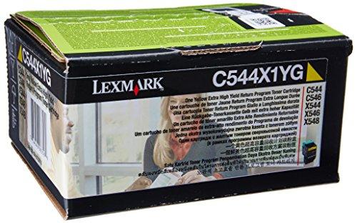Lexmark C544X1YG Compatible Extra High Capacity Yellow Toner Cartridge lowest price