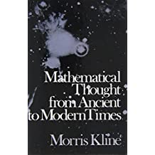 Mathematical Thought from Ancient to Modern Times