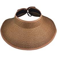 Viskey–Fashion Girl Lady spiaggia sole visiera pieghevole Arrotolare tesa larga