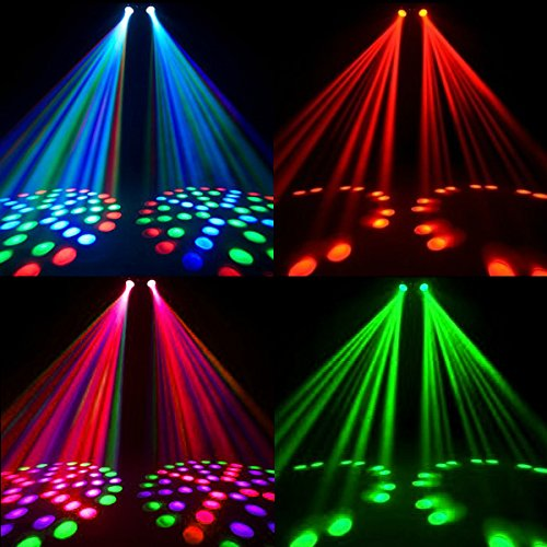 pms music active dual rotating led stage lighting club dj party