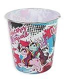 Cestino in plastica per la spazzatura per la camera dei bambini, con Unicorni, 20x 19,5cm