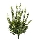 Kunstpflanze ERIKABUSCH, Heidekraut, Erika, Heide ca 25 cm. Weiß, WEISS -40