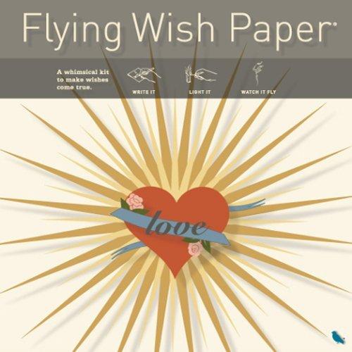 Preisvergleich Produktbild Flying Wish Paper Papier Honey Love, Large