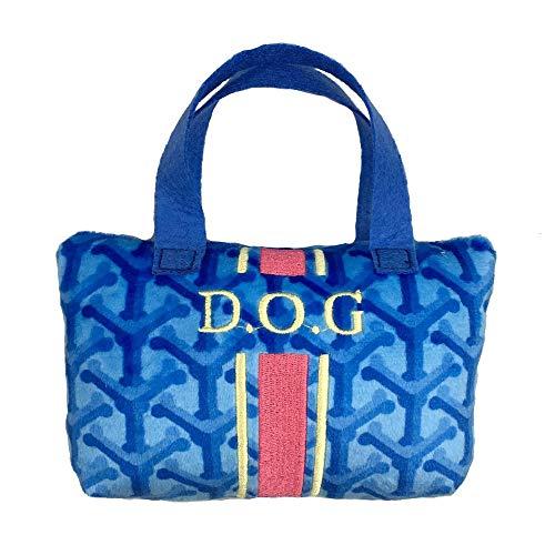 Haute Diggity Dog Fashion Hound Collection - Einzigartiges Quietschspielzeug für Hunde, aus Plüsch, mit Pfotenabdrücken, Large