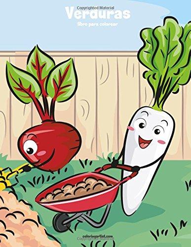 Verduras libro para colorear 1: Volume 1