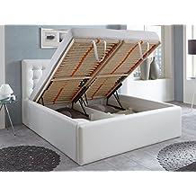 suchergebnis auf amazon.de für: polsterbett mit bettkasten 180x200 - Doppelbett Luxus