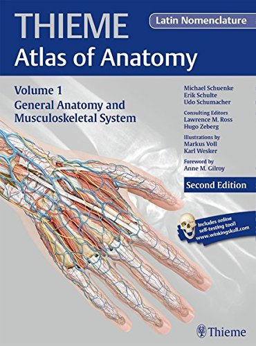General Anatomy and Musculoskeletal System (Latin) (Thieme Atlas of Anatomy) by Michael Schuenke (2015-07-28)