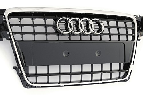Original Audi Ersatzteile Audi A4 8K Chrom Grill, brillant-schwarz glänzend