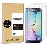 2X Verre Trempé Compatible avec Samsung Galaxy S6 Edge, Film Protection d'écran en...
