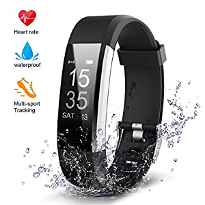 ORSKEY Fitness Tracker, Activity Tracker Fitness Band with Heart Rate Monitor, Sleep Monitor,Multiple Sport Modes Waterproof Smart Watch for Men, Women