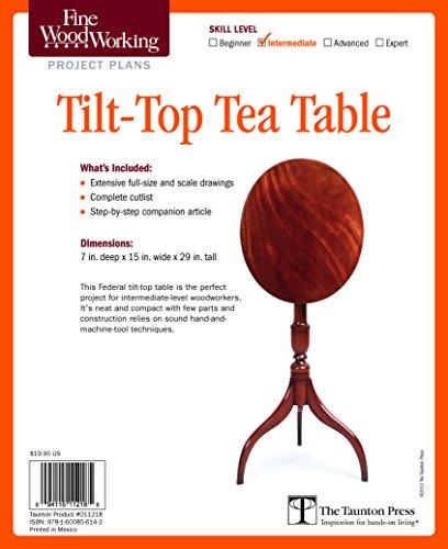 Fine Woodworking's Tilt-top Tea Table Plan - Tilt Top