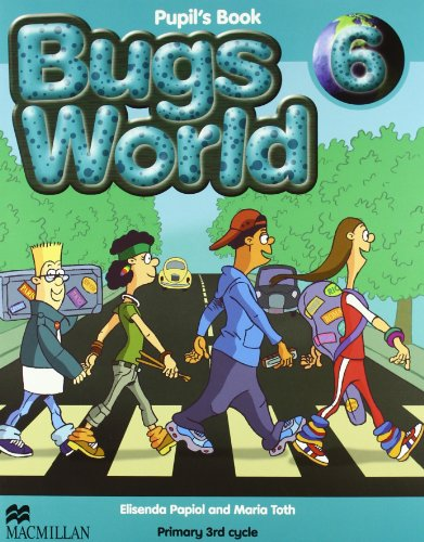 Bugs World 6 Pupils Book - 9780230719576