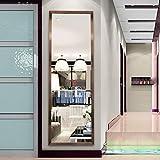 Ganzkörper-Ankleide-Bodenspiegel, einfache Wand-Kosmetikspiegel aus Kunstharz-Bad...