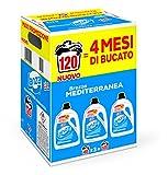 Lanza Detersivo Lavatrice Liquido, 120 Lavaggi - 6631 g