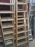 Scala in legno Facal per pittura 8 gradini - Doppia Salita 2,23 mt.
