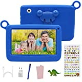 Tablet Bambini offerte 7 Pollici Touch Screen,Android 7.0, Tablet Educativo offerte 2GB RAM +32GB con Memoria?con Custodia in Silicone , Tablet PC con App per Bambini.