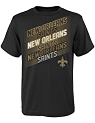 "New Orleans Saints Jeunesse Youth NFL ""Accelerate"" Short Sleeve T-Shirt"