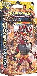 Pokemon Sonne & Mond Serie 1 - Themendecks - 3-fach sortierte Themendecks (jeweils 4 decks) - jedes Themendeck ist ein komplett spielfertiges Deck mit 60 Karten in einer Deckbox, inklusive einer Spielregel/Spielunterlage für 2 Spieler, 1 Kartenli...