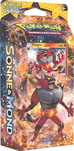 Pokemon Sonne & Mond Serie 1 - Themendecks - Deutsch (Fuegro Deck)