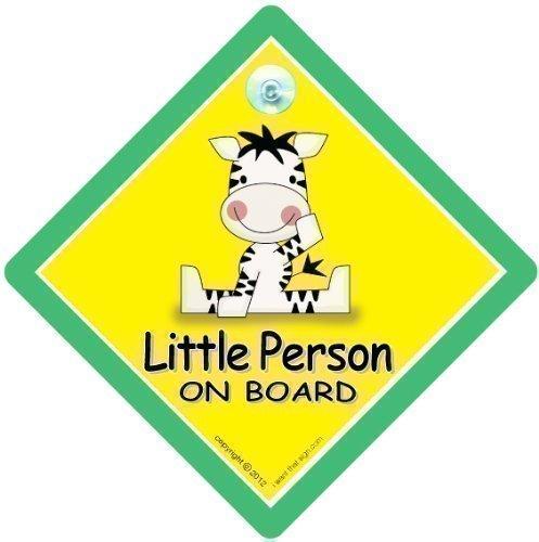 Little Person On Board, Zebra, Little Person On Board Auto Zeichen, Little Person On Board Zebra, Little Person, Auto Safety Schild, Baby an Bord, Aufkleber, Bumper Aufkleber, Baby on Board, Baby, Baby Auto Schild, Mutterschaft, Schwangerschaft, ich brauche -