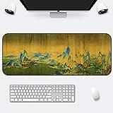 DS-L groß - mousepad erwachsenen männlichen verlängerung verdickung schreibtisch pad mousepad chinesische malerei - stil,tausend li von flüssen und berge