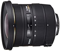 SIGMA - 10-20/3,5 DC EX HSM NIKONOptimisé pour les reflex à capteur APS-C Ultra grand angle pour votre réflex numérique Mise au point minimale de 24 cm Pare-soleil fourni Plage focale : 10-20mm Ouverture constante de f3, 6 Monture Nikon
