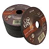 (PACK OF 4) Parweld 115mm Grinding discs for steel (115 x 6.0 x 22.2mm) 4.5'